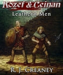 "Rene Aigner's cover art for ""Leathern Men""."
